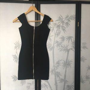 H&M Zip Front Bodycon Dress